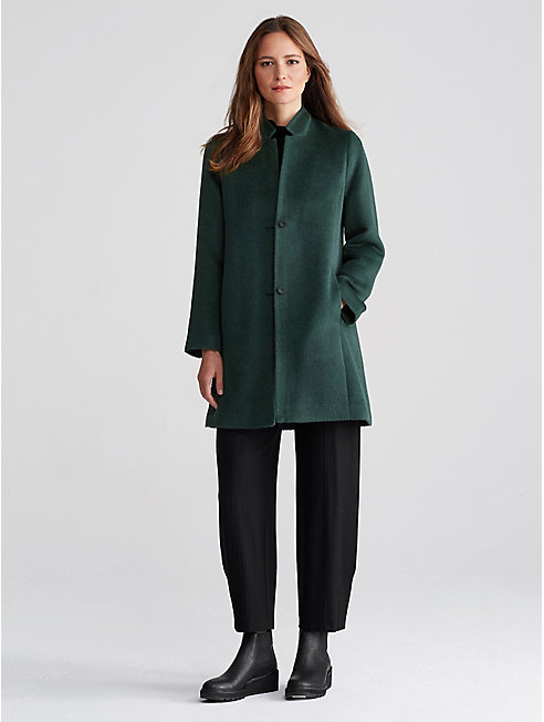 Alpaca Notch Collar Coat
