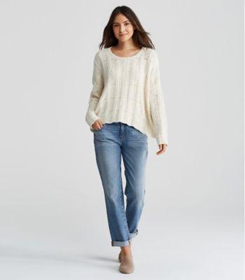 Organic Cotton Boyfriend Jean