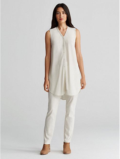 Organic Cotton Bistretch Slim Pant