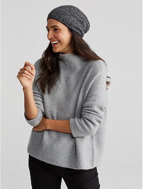 Cashmere Silk Bliss Ministripe Hat