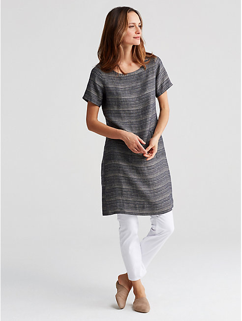 Coastline Organic Linen Dress