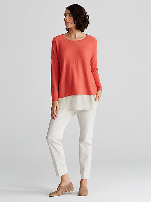 Featherweight Cashmere Box-Top