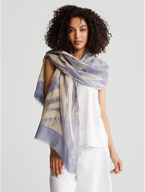Organic Linen Cotton Scarf