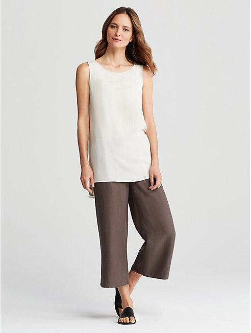 Tencel Linen Wide-Leg Pant