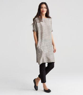 Short Silk Dress
