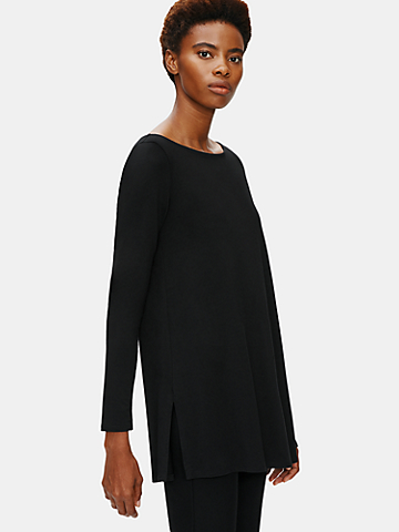 System Fine Jersey Tunic