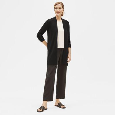System Ultrafine Merino Long Cardigan in Responsible Wool
