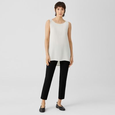 System Stretch Crepe Slim Ankle Pant