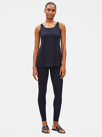 System Viscose Jersey Ankle Leggings