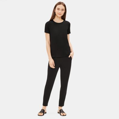 System Viscose Jersey Slim Ankle Easy Pant