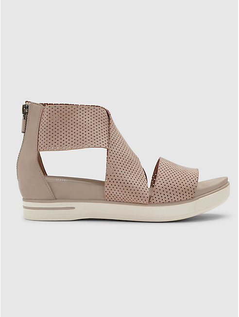 Sport Sneaker Sandal in Perforated Nubuck