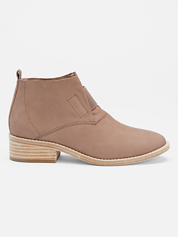 Soul Tumbled Nubuck Bootie