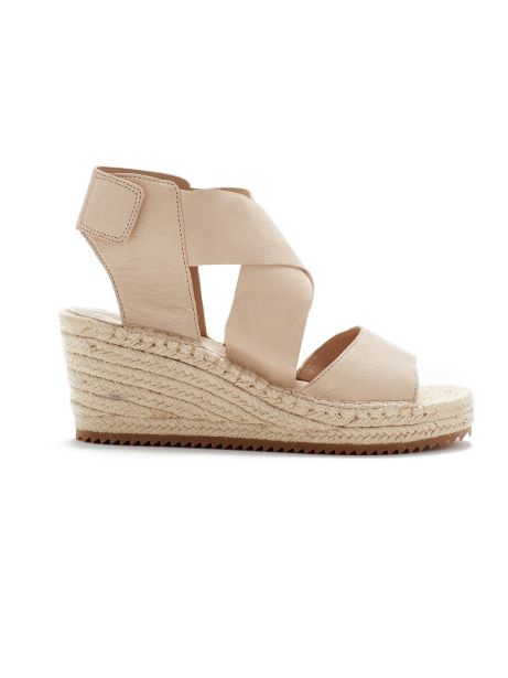 Eileen Fisher Leather Espadrille Sandals w/ Tags Cool Shopping 1rg54B8IrA