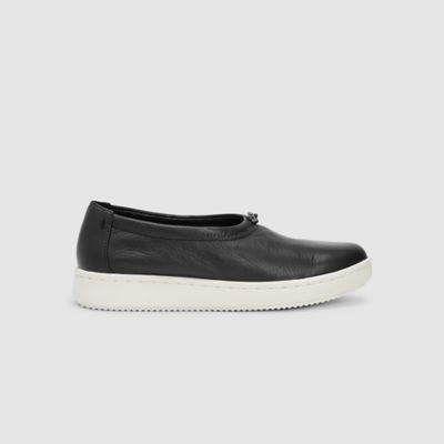 Sydney Washed Leather Sneaker