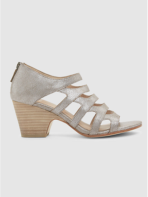 Dawson Sandal in Metallic Suede