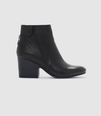 Harris Tumbled Leather Bootie