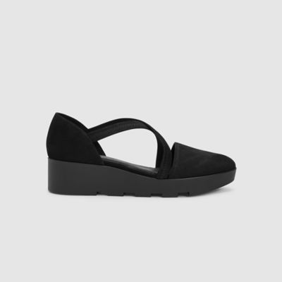 Cooper Tumbled Nubuck Wedge