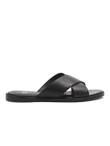 Cape Crossover Leather Sandal