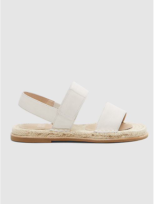 Max Espadrille Sandal in Washed Leather