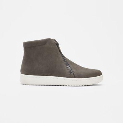 Bias Tumbled Nubuck High-Top Sneaker