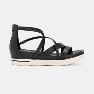 Skip Washed Leather Sneaker Sandal