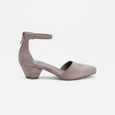 Just Suede Ankle-Strap Pump