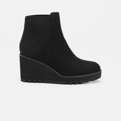 Adele Wedge Wool Bootie