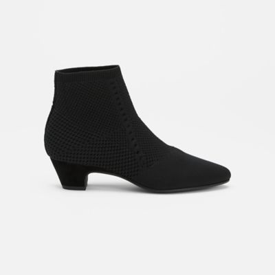 Purl Stretch Knit Bootie