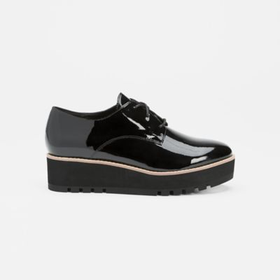 Eddy Patent Leather Platform Oxford
