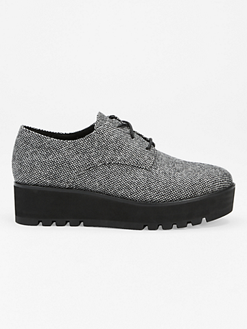 Eddy Tweed Platform Oxford