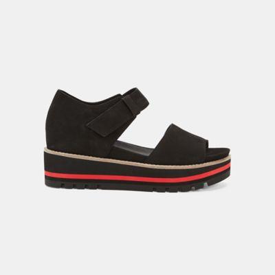Luella Tumbled Nubuck Wedge Sandal