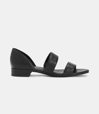 Val Tumbled Leather Sandal
