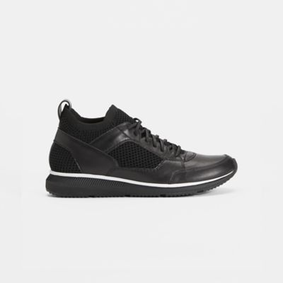 Expo Recycled Polyester Washed Leather Sneaker