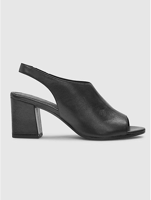 Bobbie Italian Leather Slingback