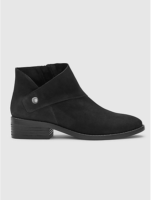 Billie Tumbled Nubuck Bootie