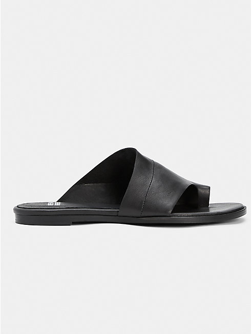 Ty Washed Leather Slide
