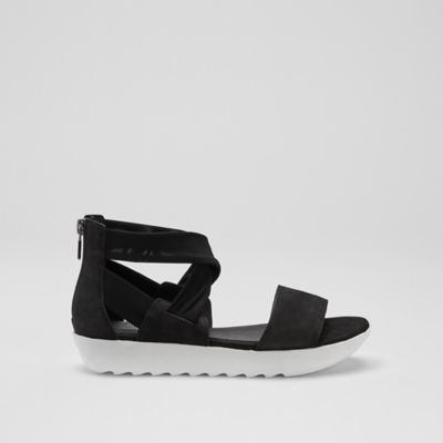 Kash Tumbled Nubuck Leather Sneaker Sandal
