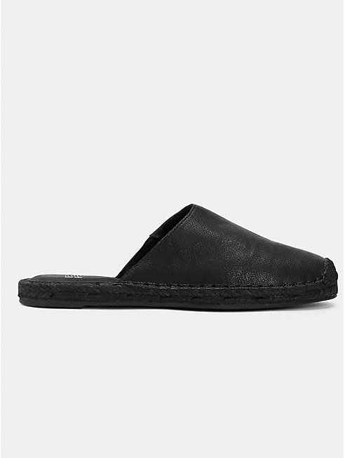 Kai Tumbled Leather Espadrille