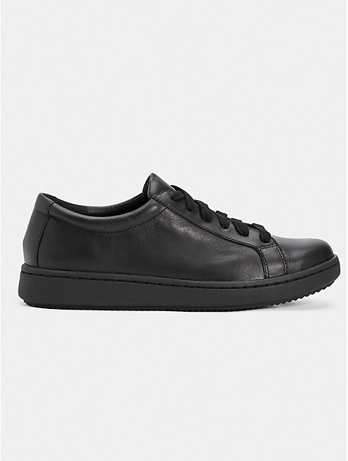 Cal Washed Leather Sneaker