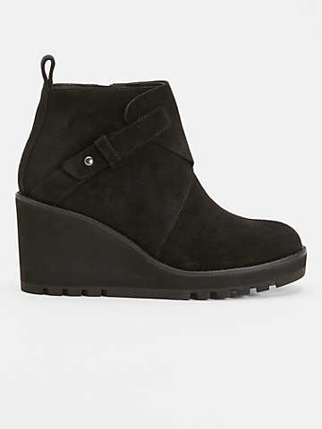 Tinker Wedge Bootie in Suede