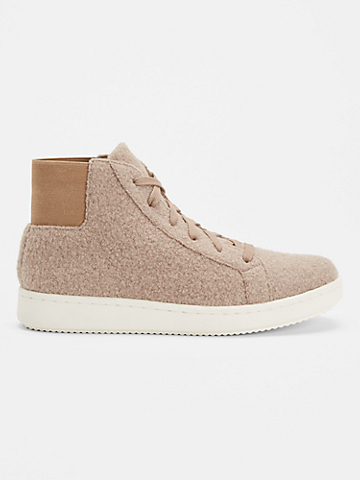 Gaze Tumbled Nubuck High-Top Sneaker