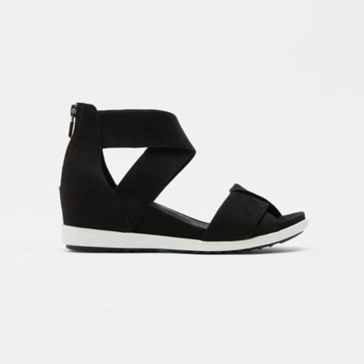 Viv Tumbled Nubuck Wedge Sandal