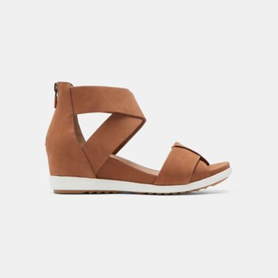 Viv Tumbled Nubuck Wedge Sandal