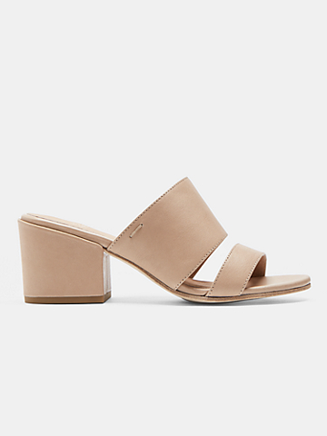 Rome Leather Mule Sandal