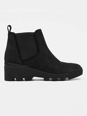 Splash Waterproof Suede Bootie