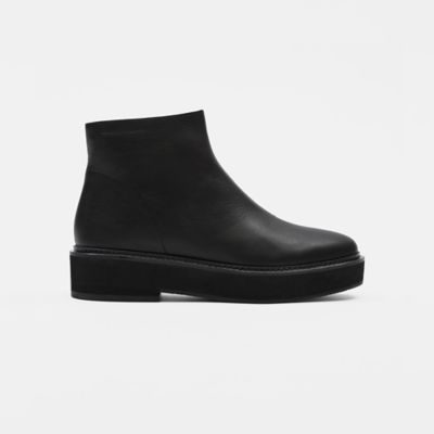 Nann Wedge Bootie in Leather