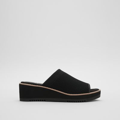 Telly Recycled Stretch Knit Wedge Sandal