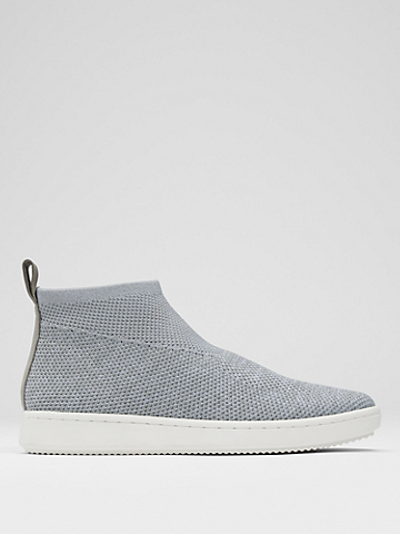 Point Recycled Stretch Knit Wedge Sneaker