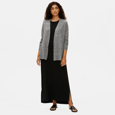 Organic Linen Cotton Shaped Cardigan