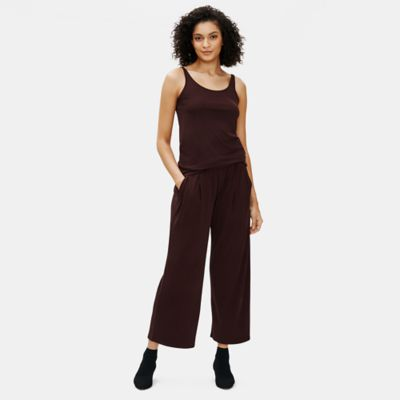 Stretch Silk Jersey Slim Cami